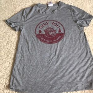 Smokey the bear tshirt